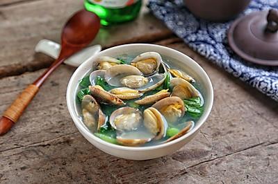 蛤蜊芥菜汤#金龙鱼外婆乡小榨菜籽油 最强家乡菜#