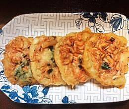 酥脆小虾饼的做法