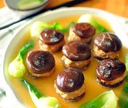 经典徽菜 香菇酿肉的做法