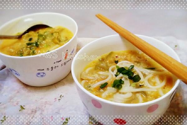 「喝粥 or 吃面?」蔬菜小米粥面的做法