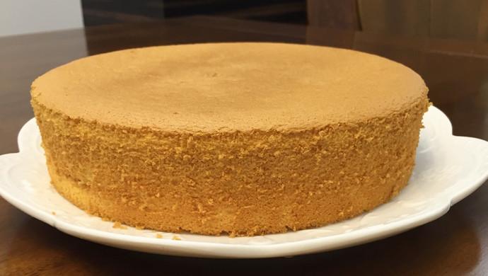 八寸海绵蛋糕 软绵绵香喷喷