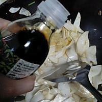 菁选酱油试用之炒蘑菇的做法图解4