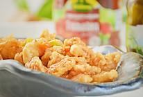 #肉食者联盟#香辣软炸蛎虾仁的做法