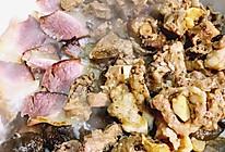 湘西腊肉&豉汁排骨香菇煲仔饭的做法