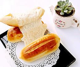 无油牛奶甜面包的做法