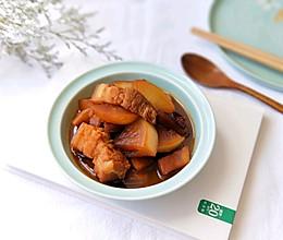 白萝卜炖肉(恋&爱冬季就这理由~)的做法