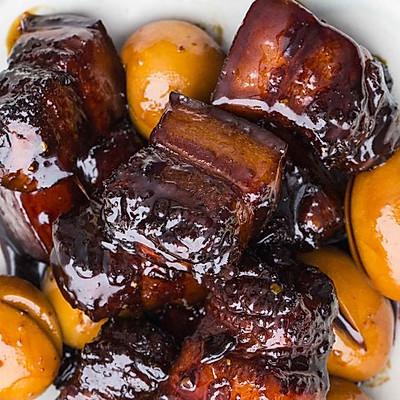 上海红烧肉:红烧肉加鸡蛋,上海人的吃法赞!