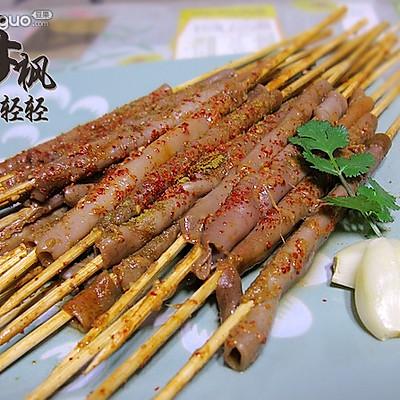 烤海肠(微波炉版)