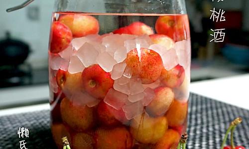 樱桃酒的做法