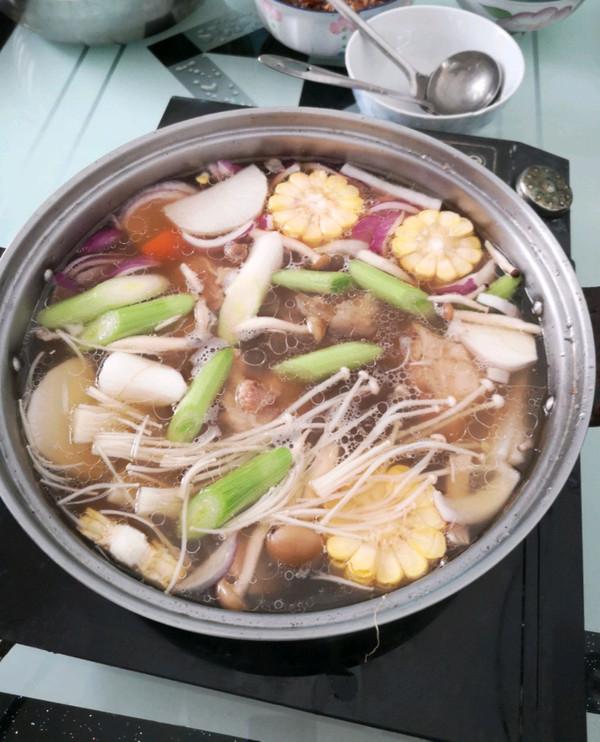 清汤火锅底料的做法