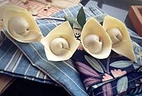 花式传统小葱馄饨-馄饨的四种包制的做法