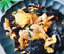 简单快手菜|鲜嫩爽滑四味小炒的做法
