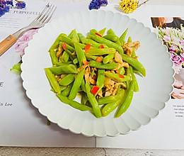 #夏日消暑,非它莫属#四季豆炒肉的做法