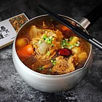 虫草花咖喱猪骨汤