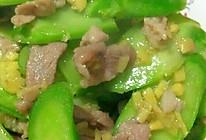 下饭菜----姜汁芥蓝肉片的做法