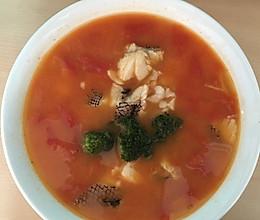 番茄鳕鱼汤的做法