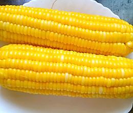 煮甜玉米的做法