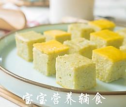 宝宝辅食-鸡肉米饭糕的做法