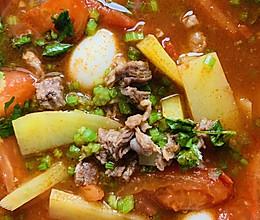#中秋团圆食味  番茄牛肉汤的做法