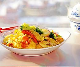 #味达美名厨福气汁,新春添口福#素炒玉子豆腐的做法