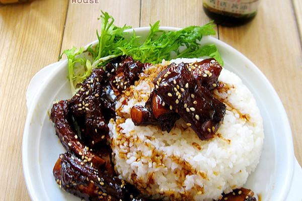 照烧排骨饭#菁选酱油试用之#的做法