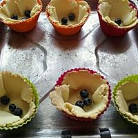 脆皮蓝莓奶酪挞#我动了你的奶酪#的做法图解7