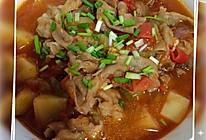酸甜开胃番茄肥牛汤的做法