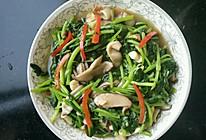青菜香菇的做法