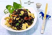 雪里蕻炖豆腐的做法