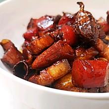 入味三分:胡萝卜红烧肉