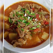 酸甜开胃番茄肥牛汤