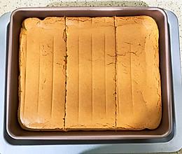 戚风方形蛋糕的做法