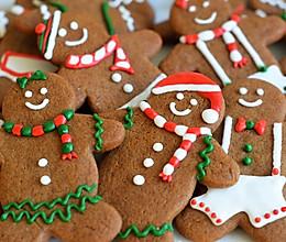 圣诞节姜饼人饼干的做法