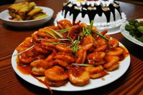 澳门美食:番茄虾的做法