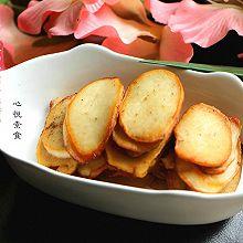 橄榄油干煎杏鲍菇