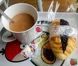午后的燕麦奶茶的做法