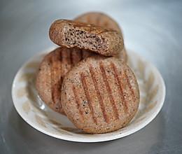 #一人一道拿手菜# 超快手100%全麦面包 无油无糖的做法