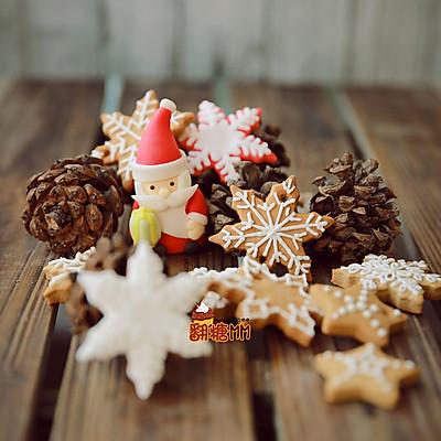 预热圣诞姜饼喽!糖霜和翻糖造型一次教你三款