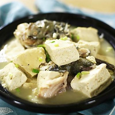 迷迭香:鱼头豆腐煲