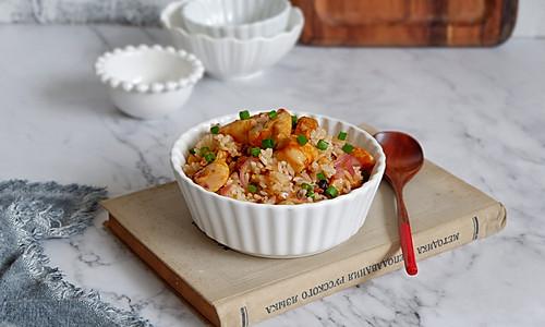 """奥尔良鸡肉炒饭#在""""家""""打造ins风美食#的做法"""