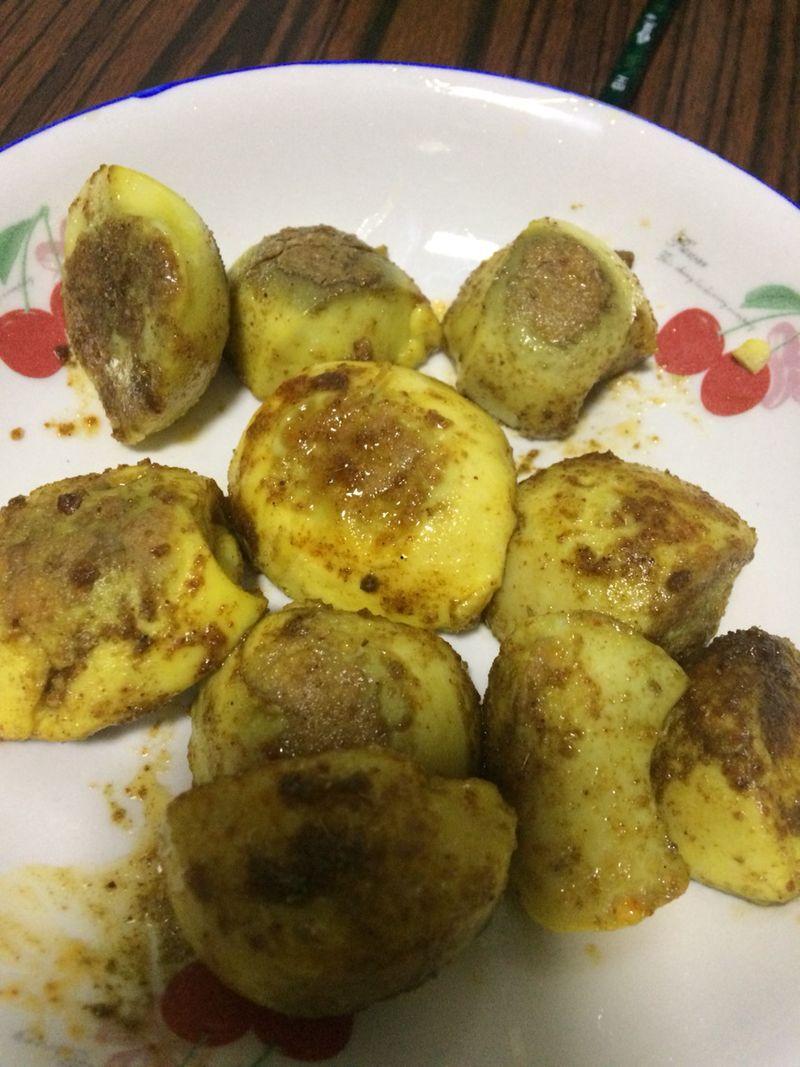 土豆块的做法大全_烤实蛋怎么做_烤实蛋的做法_豆果美食