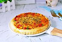 罗勒意式披萨包#金龙鱼精英百分百烘焙大赛颖涵战队#的做法