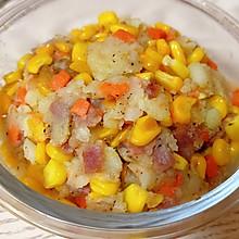 #餐桌上的春日限定#玉米培根薯泥
