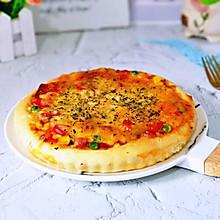 罗勒意式披萨包#金龙鱼精英百分百烘焙大赛颖涵战队#