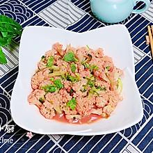 #晒出你的团圆大餐# 玫瑰腐乳花菜