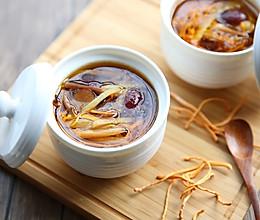 【滋补暖心】黄花菜虫草花炖鸡汤的做法
