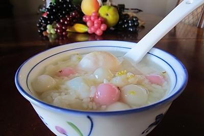 桂花酒酿汤圆