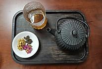 核桃玫瑰茶的做法