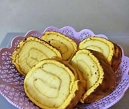 棉花虎皮蛋糕卷的做法