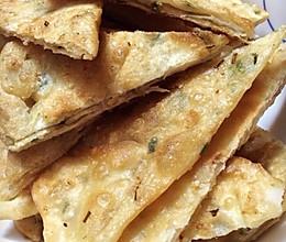 酥脆葱油饼的做法